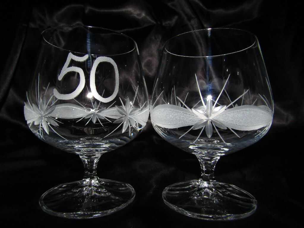 Lužické sklo LsG Nový Bor LsG-Crystal Jubilejka číše sklenička napoleonka broušená Kanta J-242 250ml 2 Ks.