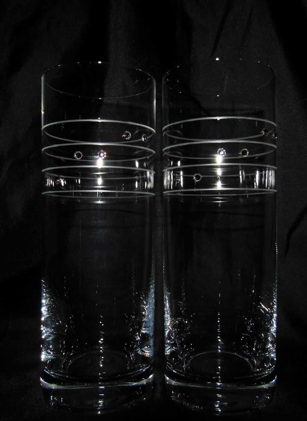 Gewaltig Longdrinkgläser Kristall Ideen Von Longdrink Glas/ Longdrinkgläser Swarovski Hand Geschliffen Muster